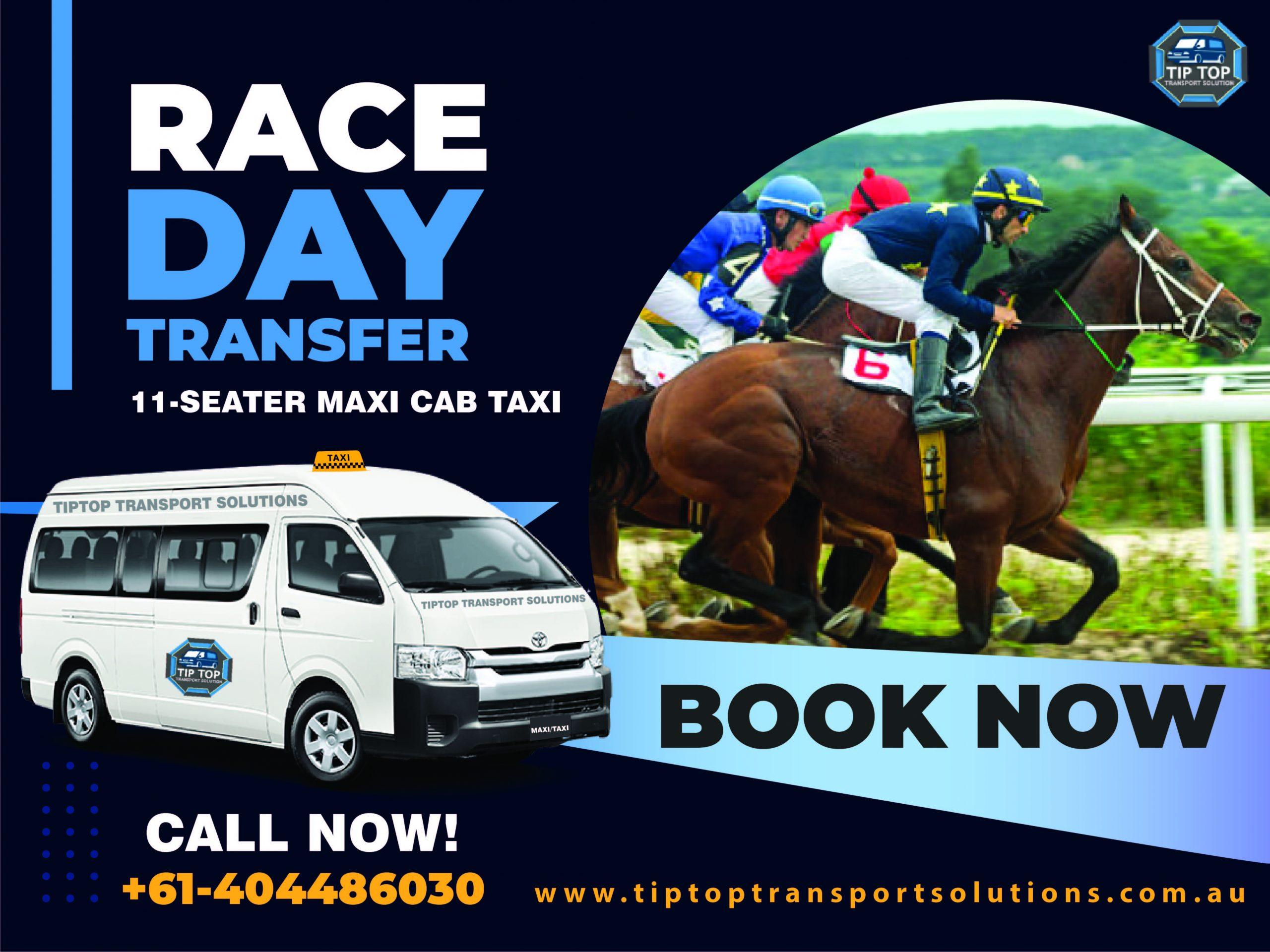 RACE DAY TRANSFER SYDNEY