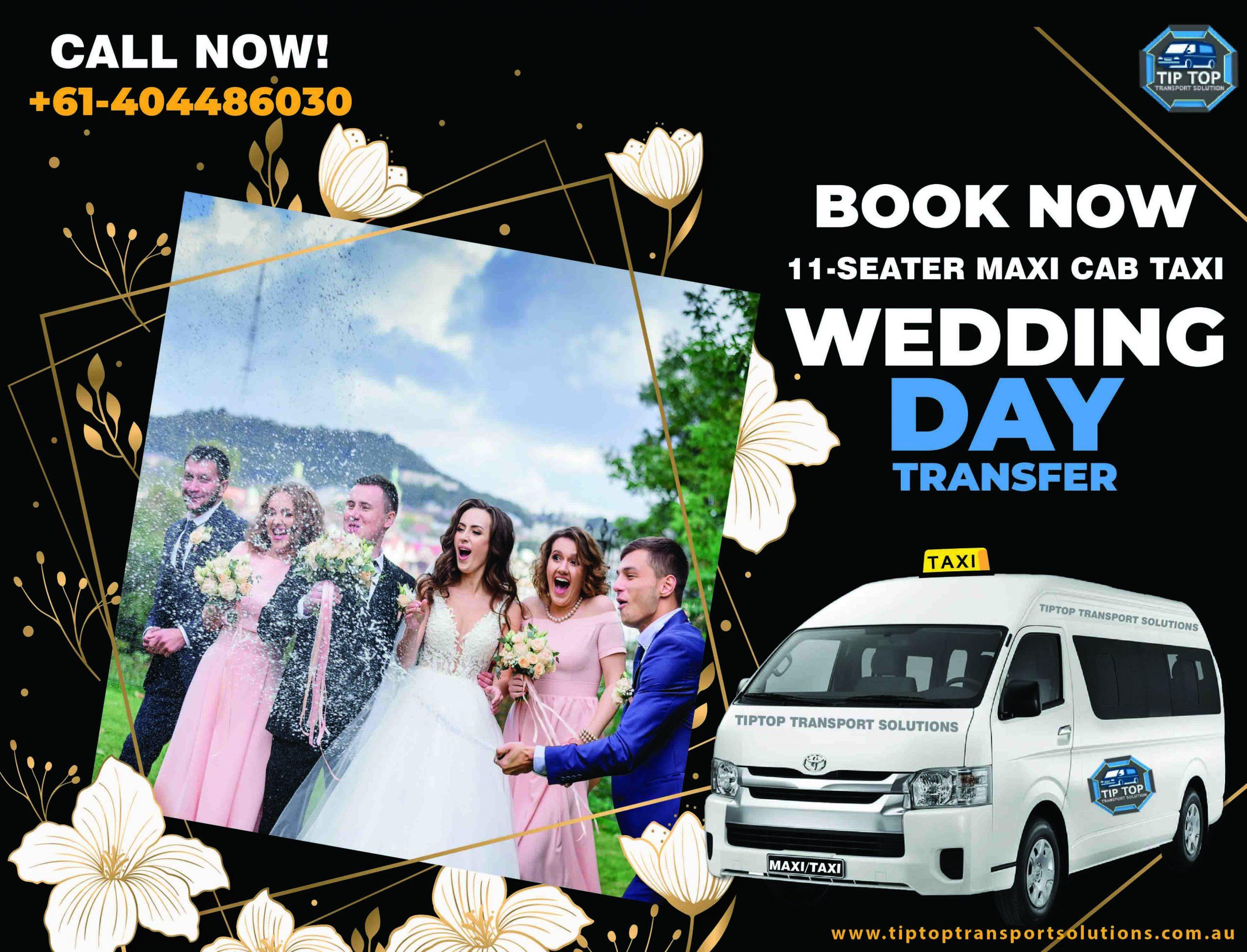 wedding transfer taxi sydney