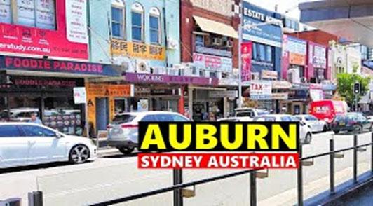 Maxi Taxi near Auburn, Sydney