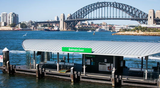 Maxi Taxi near Balmain Easts, Sydney