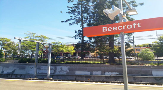 Maxi Taxi near Beecroft, Sydney