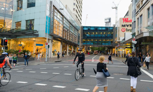Maxi/Taxi near Bondi Junction, Sydney