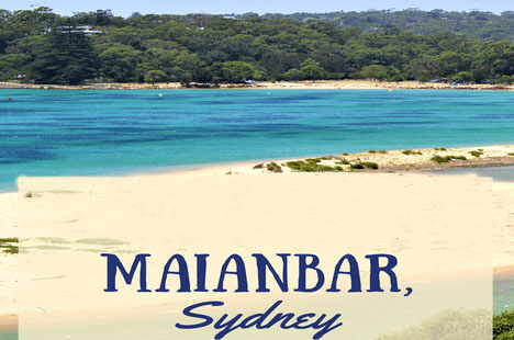 Maxi Taxi Booking to Maianbar,Sydney