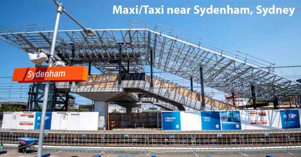 Maxi Taxi near Sydenham, Sydney