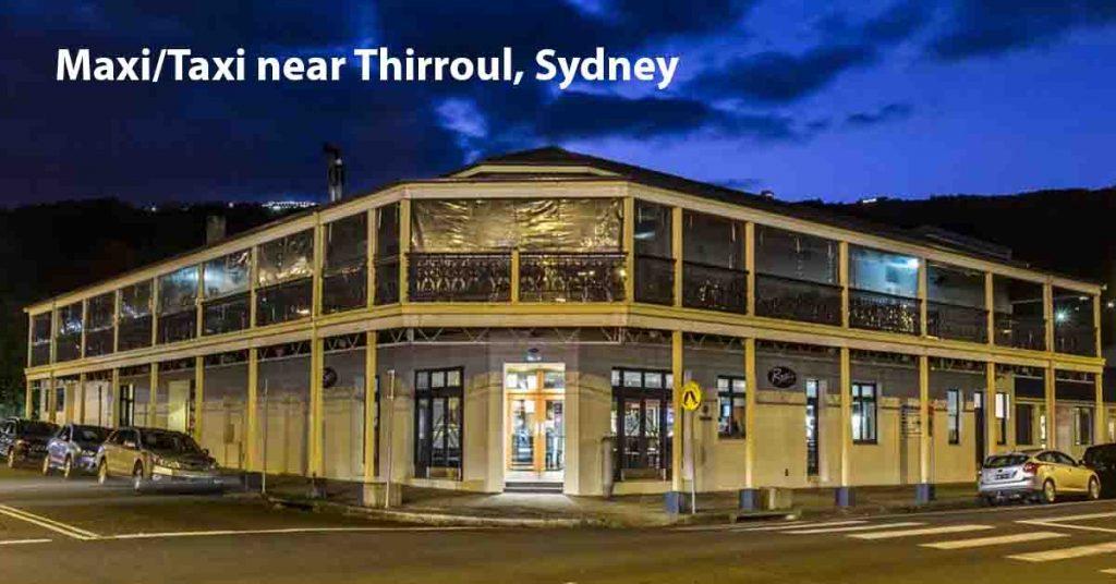 Maxi Taxi near Thirroul, Sydney