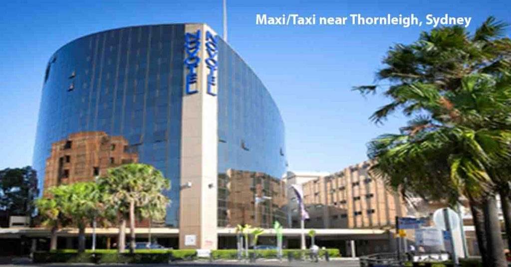 Maxi Taxi near Thornleigh, Sydney