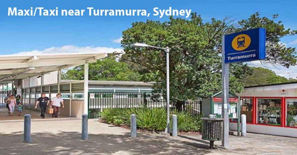 Maxi Taxi near Turrella Sydney