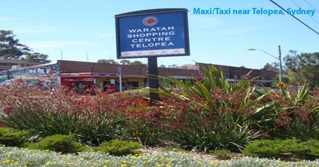 Maxi Taxi near Telopea Sydney