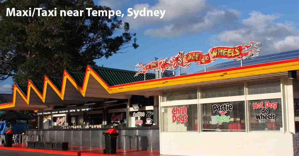 Maxi Taxi near Tempe Sydney