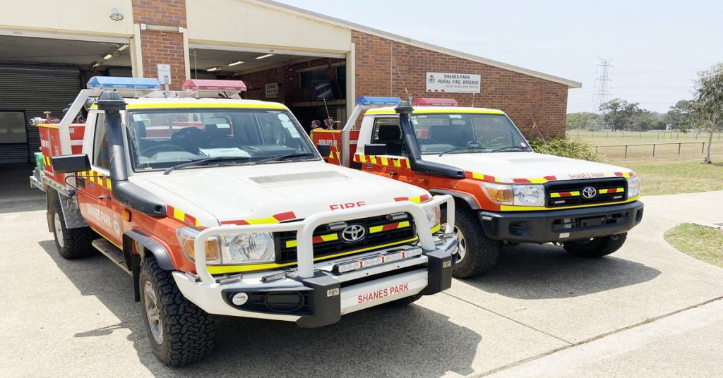 Maxi Taxi near Shanes Park Sydney
