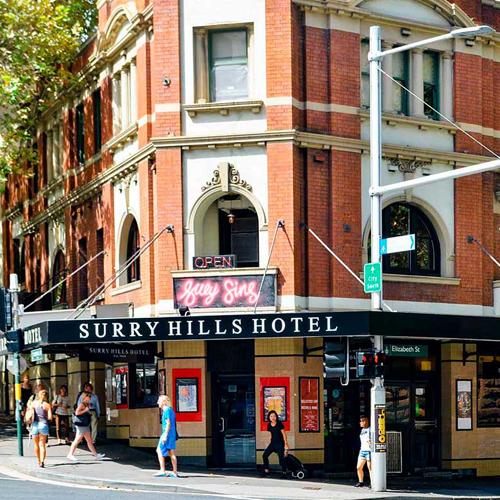 Maxi taxi surry hills. Sydney