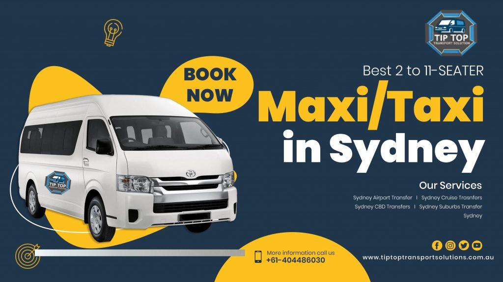 maxi taxi in sydney